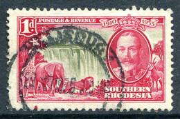 Southern Rhodesia 1935 KGV Silver Jubilee - 1d Value Used (SG 31) - Rhodésie Du Sud (...-1964)