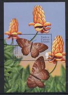 Turks & Caicos - 2000 - Bloc Feuillet BF N° Yv. 202A - Papillons / Butterflies - Neuf Luxe ** / MNH / Postfrisch - Papillons