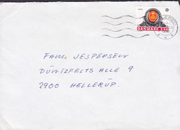 Denmark From Græsted HILLERØD 1990 Cover Brief Duntzfelts Allé 9, HELLERUP Europa CEPT Stamp - Cartas