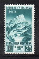 XP157 - REPUBBLICA 1953 ,  Serie N. 720  *** MNH  Montagna - 1946-60: Mint/hinged