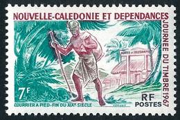NOUV.-CALEDONIE 1967 - Yv. 340 **   Cote= 4,10 EUR - Journée Du Timbre : Courrier à Pied  ..Réf.NCE26906 - Unused Stamps