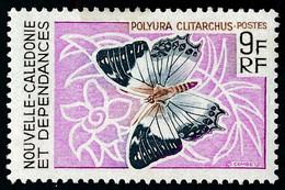 NOUV.-CALEDONIE 1967 - Yv. 342 NEUF   Cote= 6,50 EUR - Papillon : Polyura Clitarchus  ..Réf.NCE26907 - Unused Stamps