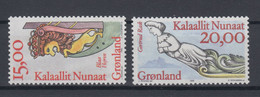 Greenland 1996 - Michel 294-295 MNH ** - Unused Stamps
