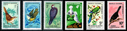 NOUV.-CALEDONIE 1967 - Yv. 345 à 350 NEUF   Cote= 40,00 EUR - Oiseaux : Fauvette, Sourd, … (6 Val.)  ..Réf.NCE26910 - Unused Stamps