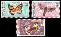 NOUV.-CALEDONIE 1967 - Yv. PA 92 93 Et 94 **   Cote= 47,00 EUR - Papillons : Danaus, ... (3 Val.)  ..Réf.NCE26796 - Unused Stamps
