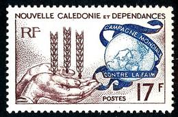 NOUV.-CALEDONIE 1963 - Yv. 307 **   Cote= 5,10 EUR - Campagne Mondiale Contre La Faim  ..Réf.NCE26890 - Unused Stamps