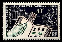 NOUV.-CALEDONIE 1964 - Yv. 325 *   Cote= 10,50 EUR - Expo Phil. PHILATEC, à Paris  ..Réf.NCE26120 - Unused Stamps