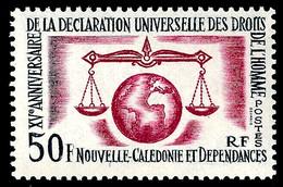 NOUV.-CALEDONIE 1963 - Yv. 313 **   Cote= 9,40 EUR - Déclaration Des Droits De L'Homme  ..Réf.NCE26895 - Unused Stamps