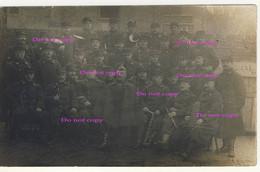 Carte Photo De La Musique Du 13ème De Ligne Avec Leurs Instruments De Namur à La Panne Le 12 Mars 1915 - Namur