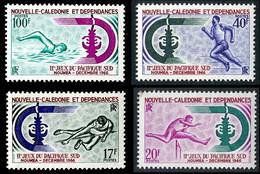 NOUV.-CALEDONIE 1966 - Yv. 332 333 334 Et 335 NEUF Cote= 27,00 EUR - Jeux Sportifs Pacifique-Sud (4 Val) ..Réf.NCE26902 - Unused Stamps