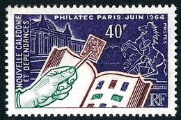NOUV.-CALEDONIE 1964 - Yv. 325 **   Cote= 10,50 EUR - Expo Phil. PHILATEC, à Paris  ..Réf.NCE26897 - Unused Stamps