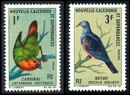 NOUV.-CALEDONIE 1966 - Yv. 330 Et 331 **   Cote= 9,40 EUR - Oiseaux : Cardinal Et Notou (2 Val.)  ..Réf.NCE26901 - Unused Stamps