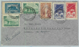 93931 - ARGENTINA - POSTAL HISTORY -  COVER To SWITZERLAND Via AEROPOSTALE  1947 - Lettres & Documents