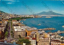 CARTOLINA  NAPOLI ,CAMPANIA,PANORAMA-VILLA COMUNALE,BELLA ITALIA,MARE,LUNGOMARE,CULTURA,STORIA,RELIGIONE,VIAGGIATA 1975 - Napoli (Nepel)