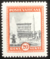 Poste Vaticane - Vaticaanstad - T2/16 - MNH - 1933 - Michel 24 - Paus Pius XI - Unused Stamps