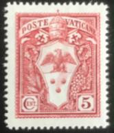 Poste Vaticane - Vaticaanstad - T2/16 - MNH - 1933 - Michel 21 - Paus Pius XI - Unused Stamps