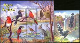 LIBERIA 2009 Birds Of Africa Animals Fauna MNH - Other