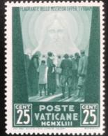 Poste Vaticane - Vaticaanstad - T2/4 - MH - 1942 - Michel 89 - Voor De Oorlogslachtoffers - Unused Stamps