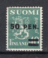FINLAND Yt. 168 (*) Zonder Gom 1931 - Neufs