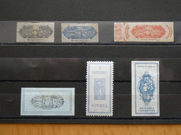 """FRANCE Timbres Fiscaux """" Tabac"""" - Fiscaux"""