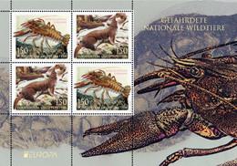 Liechtenstein 2021 MS  MNH Europa – Endangered Wildlife Animaux Sauvages Menacés - Ohne Zuordnung