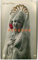 Colored Postcard Woman Postal Artista Actriz Coplera Luisita Esteso De Valencia España - Entertainers