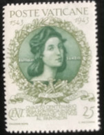Poste Vaticane - Vaticaanstad - T2/4 - MH - 1944 - Michel 99 - 400 Jaar Academie Van De Kunsten - Unused Stamps