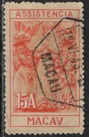 MACAU MACAO – 1945 Our Lady Of Mercy 15 Avos Scarce HONGKONG Print - Unused Stamps