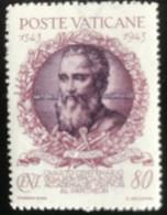 Poste Vaticane - Vaticaanstad - T2/4 - MH - 1944 - Michel 100 - 400 Jaar Academie Van De Kunsten - Unused Stamps