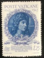 Poste Vaticane - Vaticaanstad - T2/4 - MH - 1944 - Michel 101 - 400 Jaar Academie Van De Kunsten - Unused Stamps