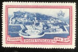 Poste Vaticane - Vaticaanstad - T2/4 - MH - 1945 - Michel 111 - Paus Pius XII - Unused Stamps