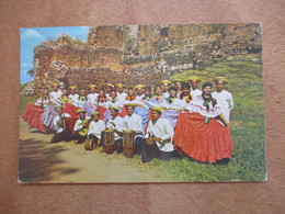 PANAMA CENTRAL AMERICA AIRES TABLENOS FLOKLORE GROUP PC CPA CPM PICTURE PHOTO POSTCARD CARTOLINA CARD - Unclassified