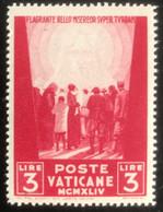 Poste Vaticane - Vaticaanstad - T2/4 - MH - 1945 - Michel 114 - Voor De Ooorlogslachtoffers - Unused Stamps