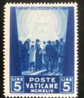 Poste Vaticane - Vaticaanstad - T2/4 - MH - 1945 - Michel 115 - Voor De Ooorlogslachtoffers - Unused Stamps