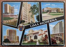 SOUTH AMERICA PERU LIMA MIRAFLORES PC CPA CPM PICTURE PHOTO POSTCARD CARTOLINA CARD - Unclassified
