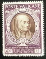 Poste Vaticane - Vaticaanstad - T2/4 - MH - 1946 - Michel 127 - 400 Jaar Concillie Van Trente - Unused Stamps
