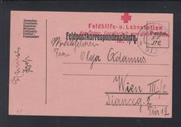 KuK Feldpost 512 Rotes Kreuz - Cartas