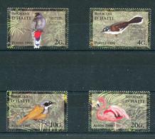 """Haiti - Mi.Nr. 1592 / 1595 - """"Einheimische Vögel"""" ** / MNH (aus Dem Jahr 1999) - Other"""