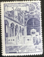 Poste Vaticane - Vaticaanstad - T2/4 - MH - 1949 - Michel 150A - San Clemente - Unused Stamps