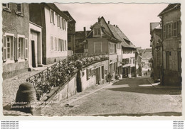 AK  Edenkoben Stadtberg Mit Berggässchen Straßenpartie 1959 - Edenkoben