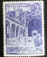 Poste Vaticane - Vaticaanstad - T2/4 - MNH - 1949 - Michel 150A - San Clemente - Unused Stamps
