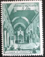 Poste Vaticane - Vaticaanstad - T2/4 - MNH - 1949 - Michel 152A - Santa Maria In Cosmedin - Unused Stamps