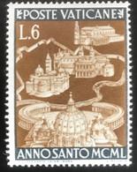 Poste Vaticane - Vaticaanstad - T2/4 - MNH - 1949 - Michel 164 - Heilig Jaar - Unused Stamps