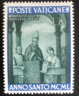 Poste Vaticane - Vaticaanstad - T2/4 - MH - 1949 - Michel 165 - Heilig Jaar - Unused Stamps