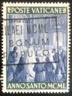 Poste Vaticane - Vaticaanstad - T2/4 - (°)used - 1949 - Michel 166 - Heilig Jaar - Unused Stamps