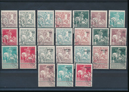BELGIUM COB 92/107 USED - 1910-1911 Caritas