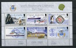 """Tristan Da Cunha - KB Mi.Nr. 905 / 910 - """"500. Jahrestag Der Entdeckung Tristan"""" ** / MNH (aus Dem Jahr 2006) - Tristan Da Cunha"""