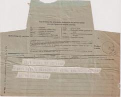 Télégramme Pour Neuilly Sur Seine 1932 - Formulaire N° 701 - Télégraphes Et Téléphones