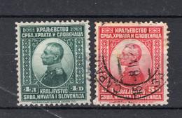 JOEGOSLAVIE Yt. 140/141° Gestempeld 1921 - Used Stamps
