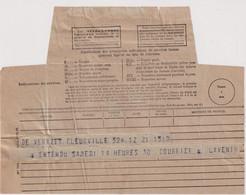 Télégramme Pour Neuilly Sur Seine 1934 - Formulaire N° 701 - Télégraphes Et Téléphones